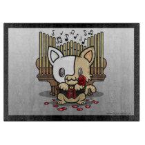 Kawaii Kitty (Phantom of the Opera) Cutting Board