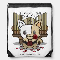 Kawaii Kitty (Phantom of the Opera) Drawstring Backpack