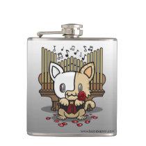 Kawaii Kitty (Phantom of the Opera) Flask