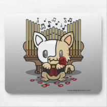 Kawaii Kitty (Phantom of the Opera) Basic Mousepad