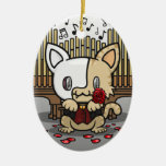 Kawaii Kitty (Phantom of the Opera) Christmas Tree Ornament
