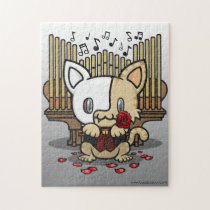 Kawaii Kitty (Phantom of the Opera) Jigsaw Puzzle