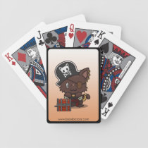 Kawaii Kitty (Pirate) Bicycle Playing Cards