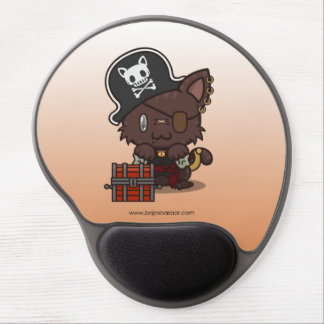 Kawaii Kitty (Pirate) Gel Mouse Pad