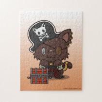 Kawaii Kitty (Pirate) Jigsaw Puzzle