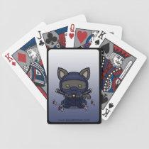 Kawaii Kitty (Shinobi) Bicycle Playing Cards