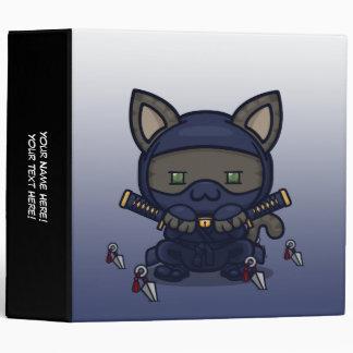 Kawaii Kitty (Shinobi) Binder
