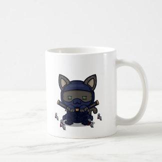 Kawaii Kitty (Shinobi) Coffee Mug