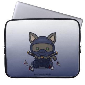 Kawaii Kitty (Shinobi) Laptop Computer Sleeves