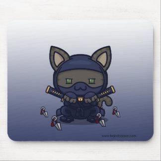 Kawaii Kitty (Shinobi) Mousepad