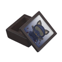 Kawaii Kitty (Shinobi) Magnetic Gift Box