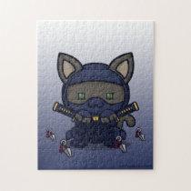 Kawaii Kitty (Shinobi) Jigsaw Puzzle