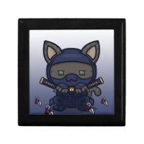 Kawaii Kitty (Shinobi) Hinged Gift Box