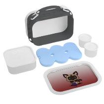 Kawaii Kitty (Siamese) Lunch Box