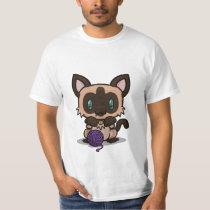 Kawaii Kitty (Siamese) T-Shirt