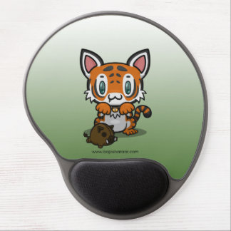 Kawaii Kitty (Tiger) Gel Mouse Pad