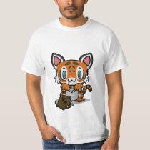 Kawaii Kitty (Tiger) T-Shirt