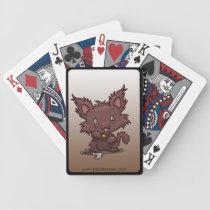 Kawaii Kitty (Werewolf) Bicycle Playing Cards