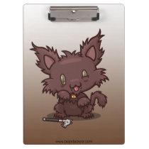 Kawaii Kitty (Werewolf) Clipboard