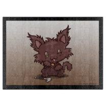 Kawaii Kitty (Werewolf) Cutting Board