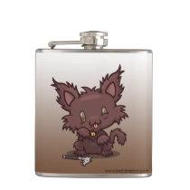 Kawaii Kitty (Werewolf) Flask