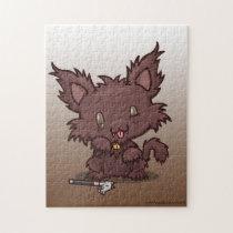Kawaii Kitty (Werewolf) Jigsaw Puzzle