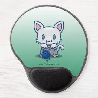 Kawaii Kitty (White) Gel Mousepads