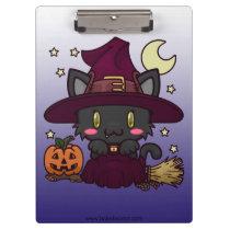 Kawaii Kitty (Witch) Clipboard