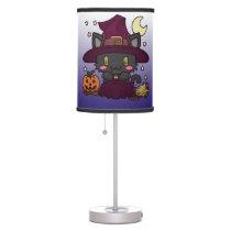 Kawaii Kitty (Witch) Table Lamp
