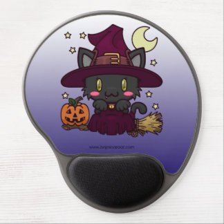 Kawaii Kitty (Witch) Gel Mouse Mat