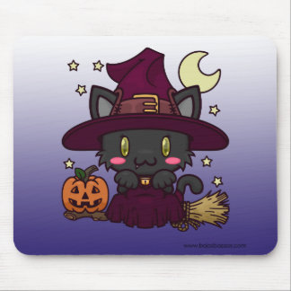 Kawaii Kitty (Witch) Mousepad