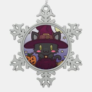 Kawaii Kitty (Witch) Ornament