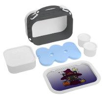 Kawaii Kitty (Witch) Lunch Box