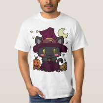 Kawaii Kitty (Witch) T-Shirt