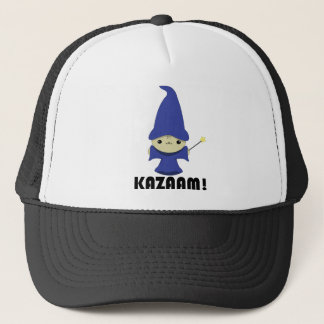 Kawaii Kitty Wizard Trucker Hat