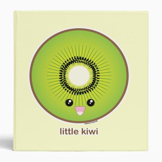 Kawaii Kiwi 3 Ring Binder
