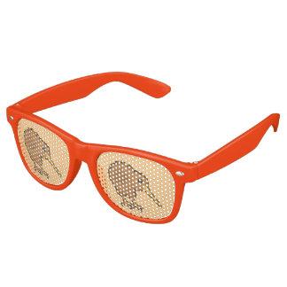 Kawaii Kiwi Retro Sunglasses