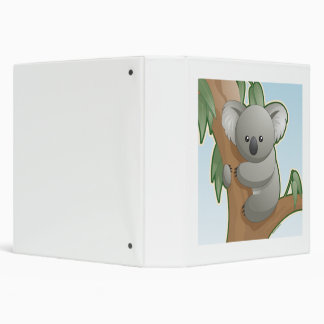 Kawaii Koala Binder