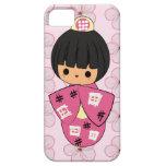 Kawaii Kokeshi Doll iPhone Case iPhone 5 Covers