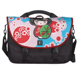 Kawaii Kokeshi Doll Bags For Laptop
