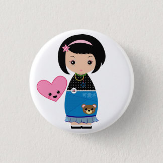Kawaii Kokeshi Pin