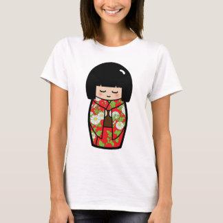 Kawaii Kokeshi (Red) Japanese Doll Shirt