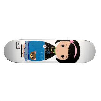 Kawaii Kokeshi Skateboard