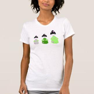 Kawaii Kokeshis Dolls T-Shirt