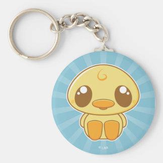 Kawaii Kuties - Lil Duckie amarillo Llavero Redondo Tipo Pin