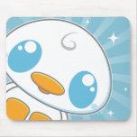 Kawaii Kuties - Lil Duckie blanco con Starburst Alfombrillas De Ratón