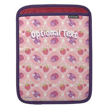 Kawaii Ladybug iPad Sleeve