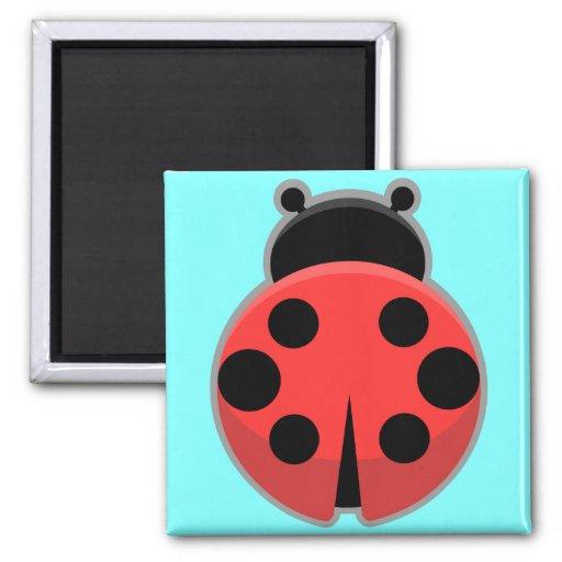 Kawaii Ladybug Refrigerator Magnets