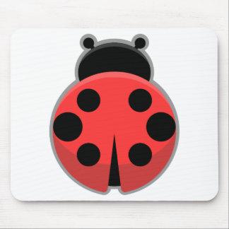 Kawaii Ladybug Mouse Pad