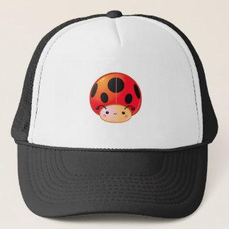 Kawaii Ladybug Mushroom Trucker Hat
